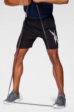 reebok trainingsshort wor woven graphic short zwart