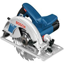 bosch professional handcirkelzaag »gks 190«, 1400 w, 190 mm blauw