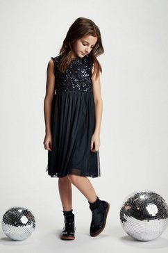 creamie tulen jurk »dress sequins« blauw