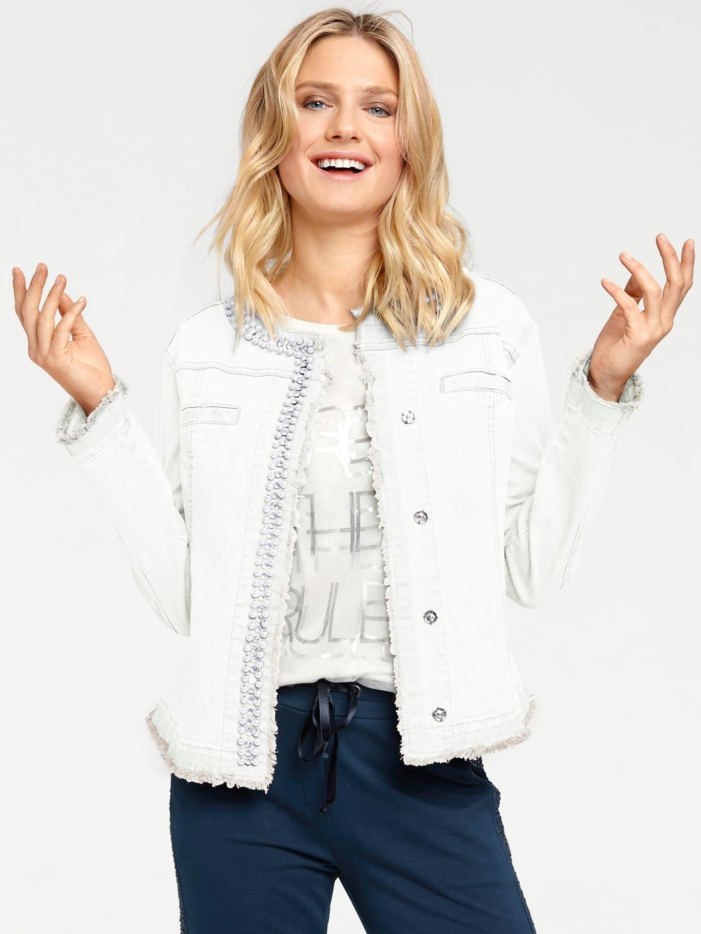 LINEA TESINI by Heine jeansjack in de webshop van OTTO kopen
