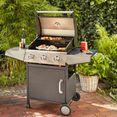 konifera gasbarbecue »vancouver«, bxdxh: 117x53x108,5 cm zwart