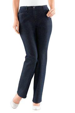 cosma jeans met aan de binnenkant elastische band blauw