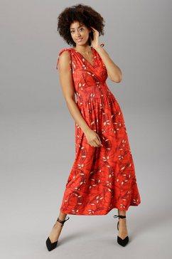 aniston selected maxi-jurk rood