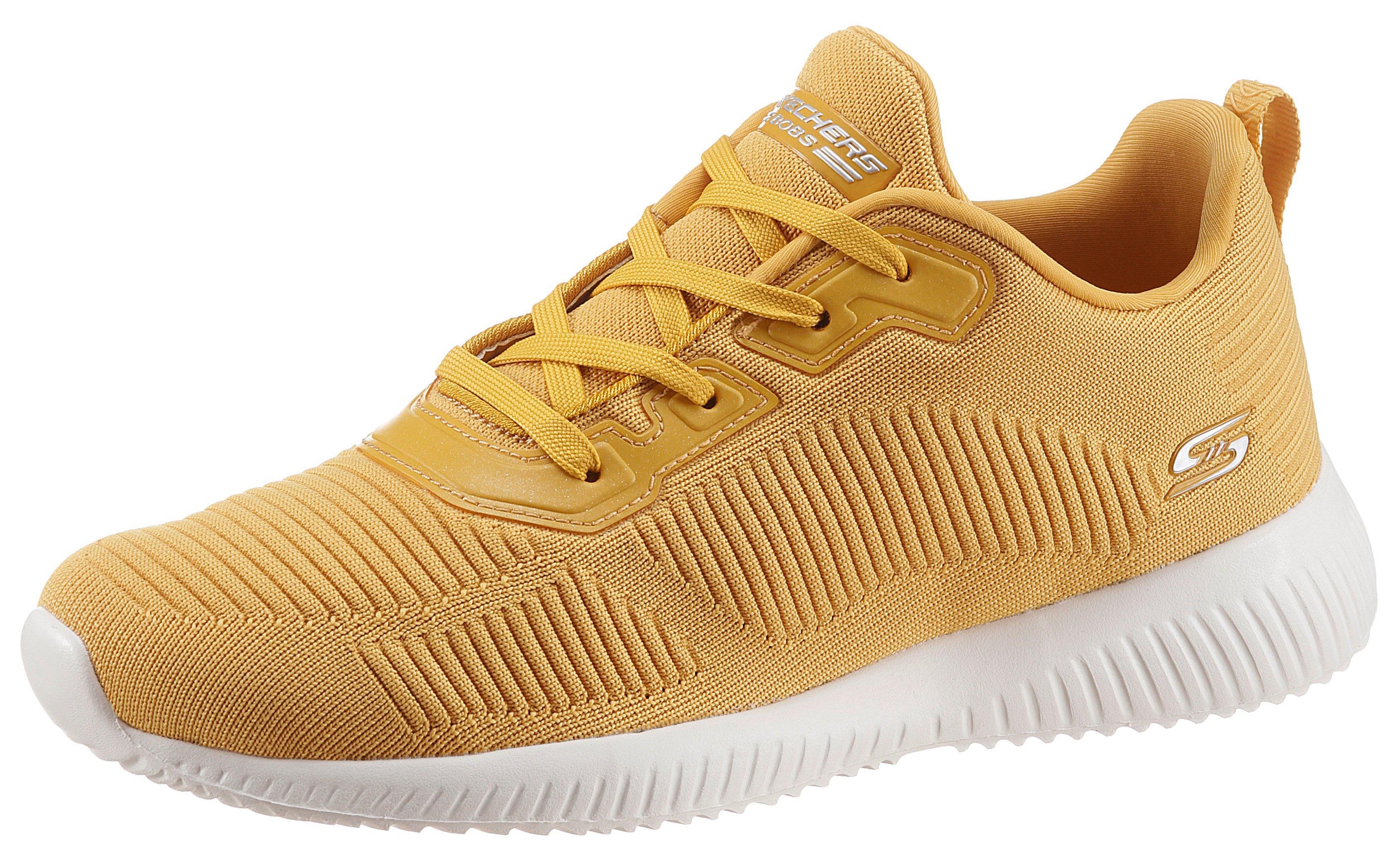 Skechers sneakers BOBS SQUAD - TOUGH TALK in tricot-look - verschillende betaalmethodes