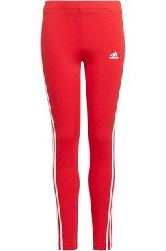 adidas performance legging adidas essentials 3-stripes rood