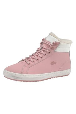 lacoste sneakers »straightset thrm03201cfa« roze