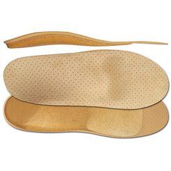 fussgut orthopedische schoeninlay's orthopedische korkfant-inlay (2-delig) beige