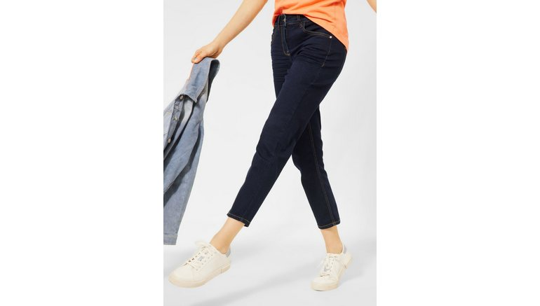 Cecil slim fit jeans in 7/8 lengte