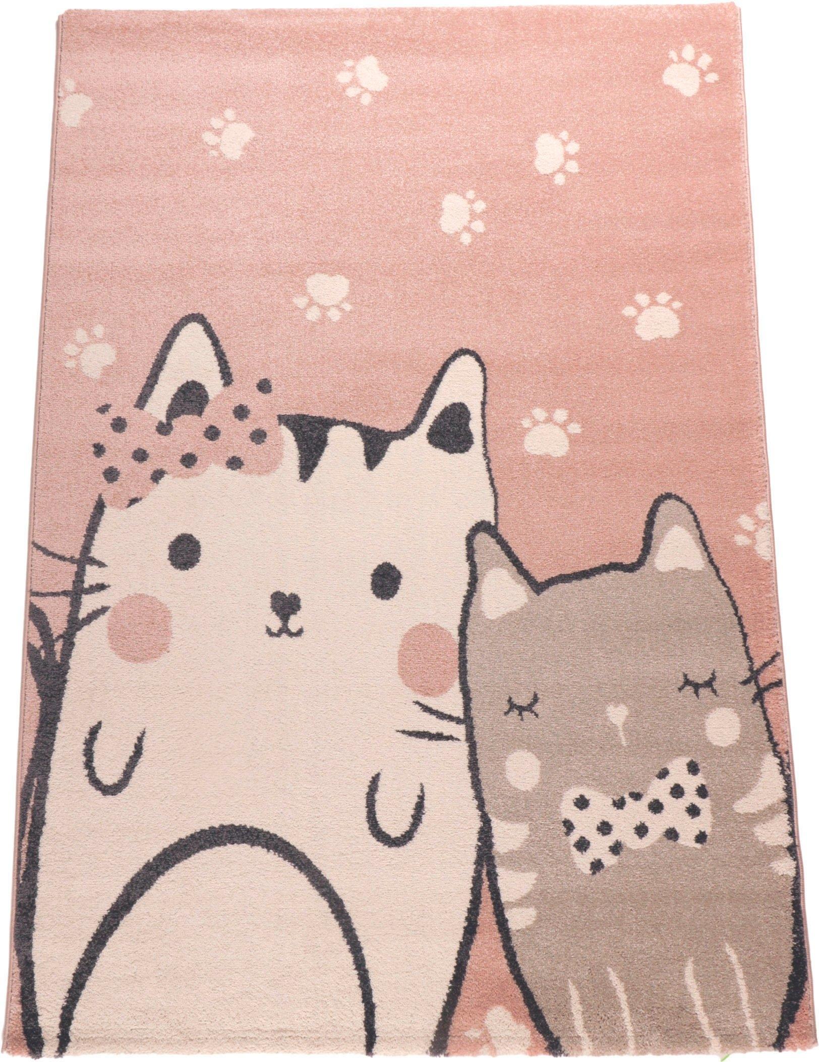Living Line vloerkleed voor de kinderkamer »Cats« online kopen op otto.nl