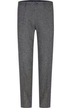 tommy hilfiger tailored pantalon »flex fks slim fit pant« zwart