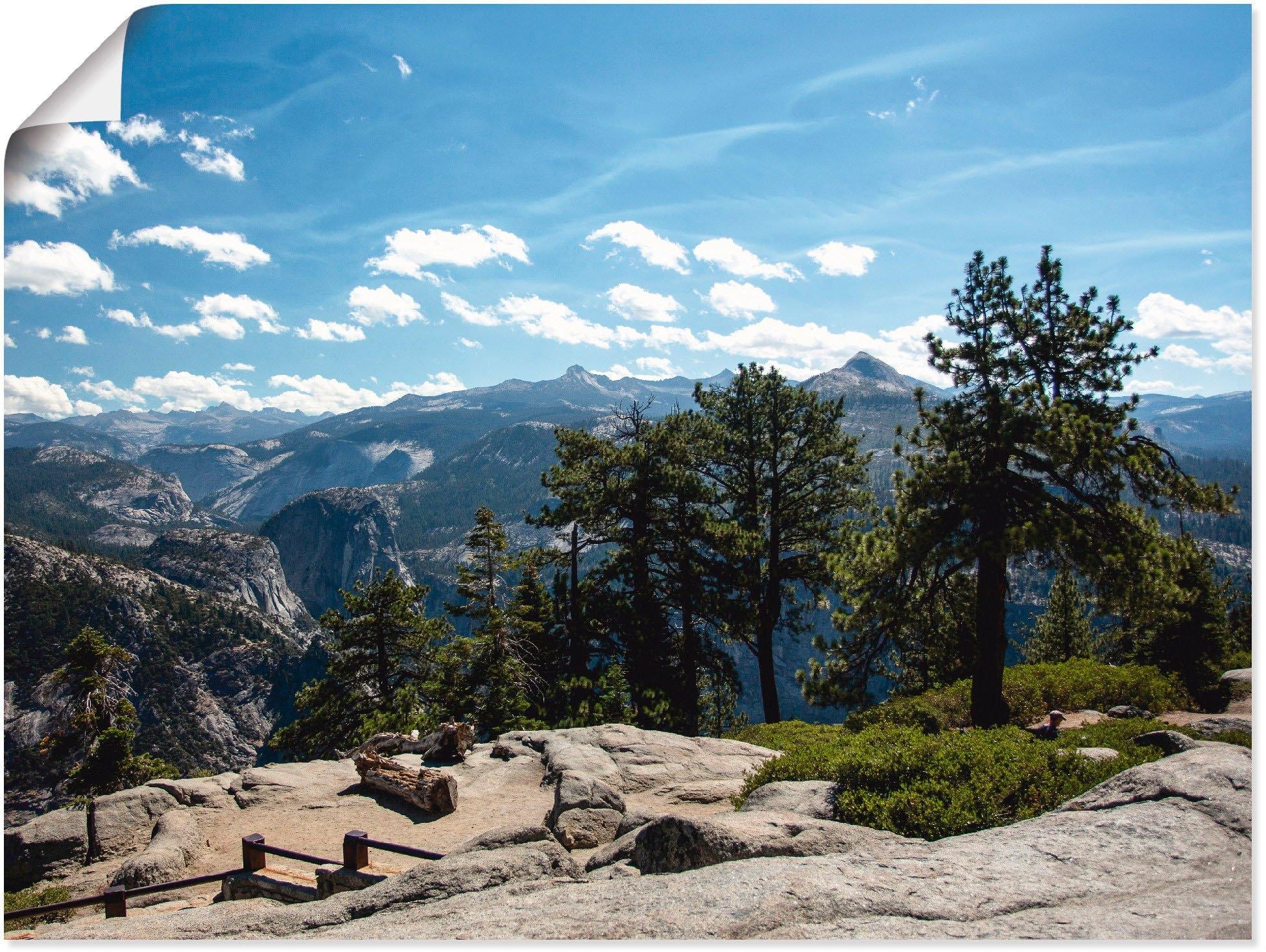 Artland Artprint Yosemite in vele afmetingen & productsoorten -artprint op linnen, poster, muursticker / wandfolie ook geschikt voor de badkamer (1 stuk) bij OTTO online kopen