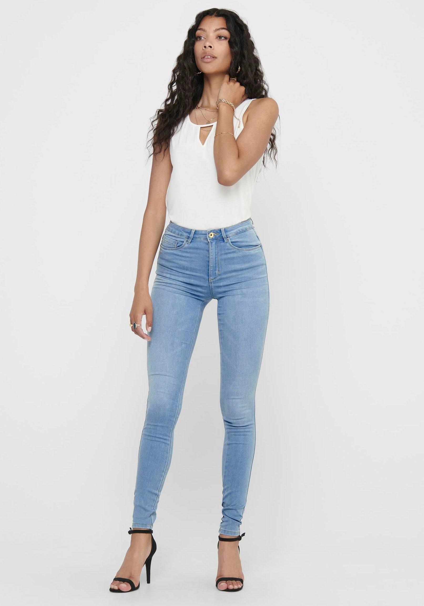 Only high-waist jeans »ONLROYAL« voordelig en veilig online kopen