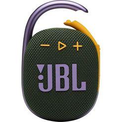 jbl »clip 4« portable luidspreker groen