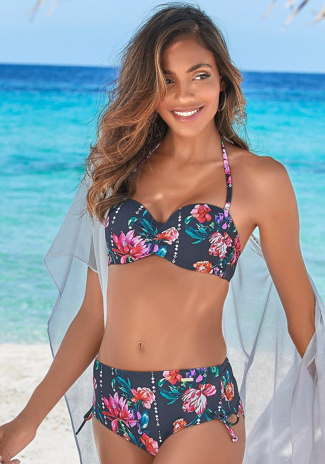 Sunseeker beugelbikinitop in bandeaumodel Modern met bloemenprint in de webshop van OTTO kopen