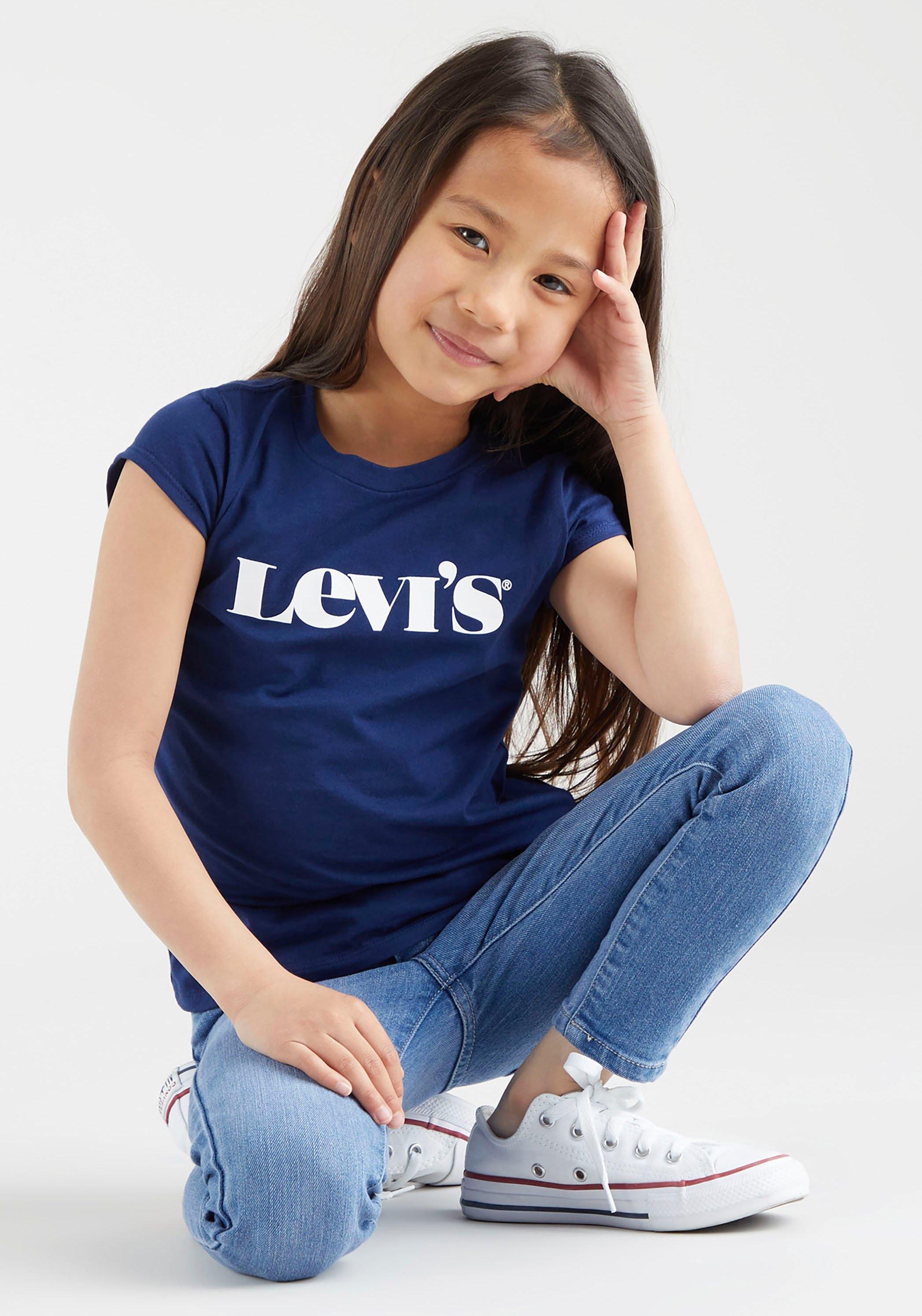 Levi's Kidswear T-shirt met eenvoudige logoprint in de webshop van OTTO kopen