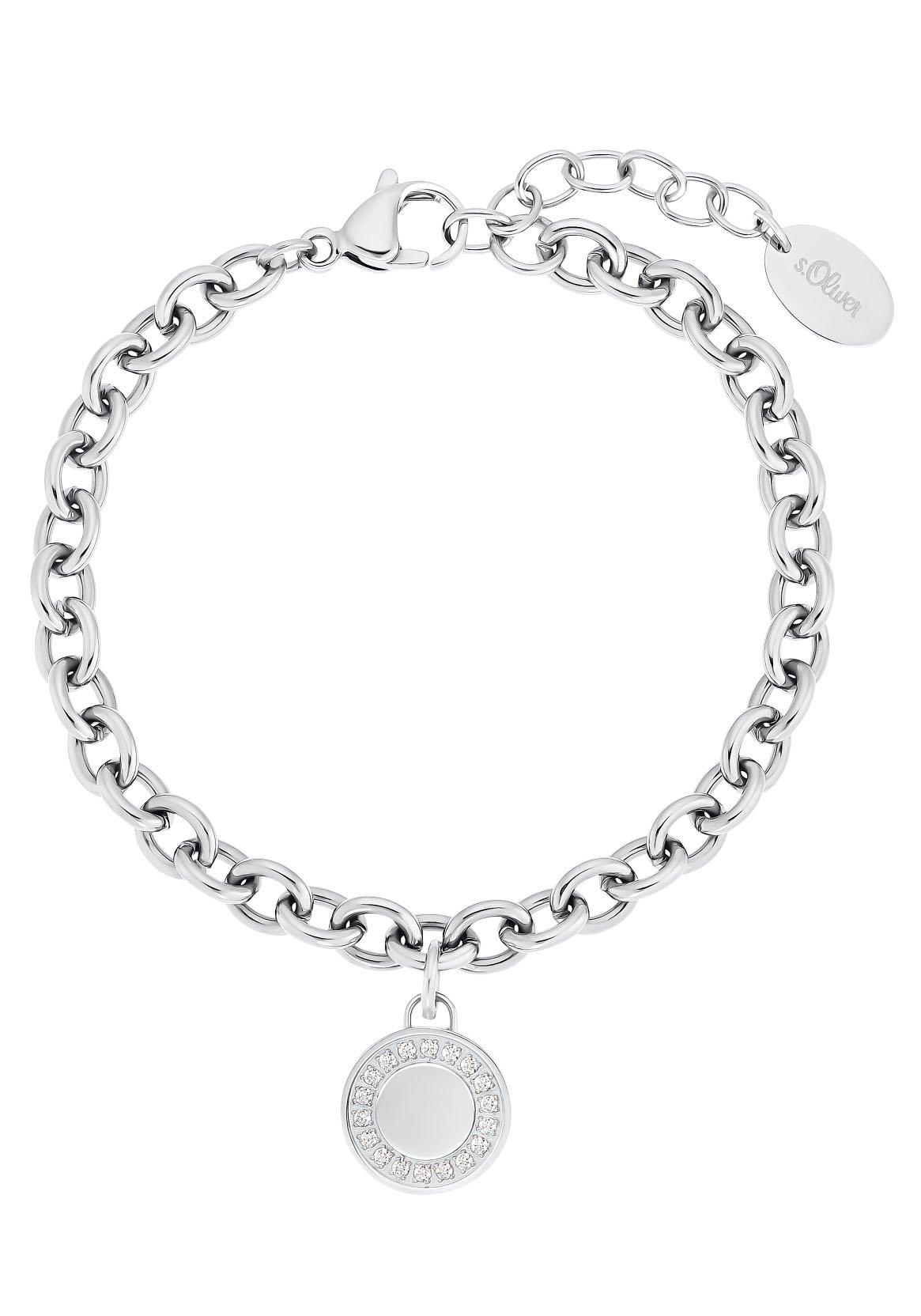 s.Oliver armband 2031480 met zirkoon (synthetisch) nu online kopen bij OTTO