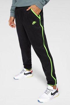nike fleece-broek »men's fleece pants« zwart