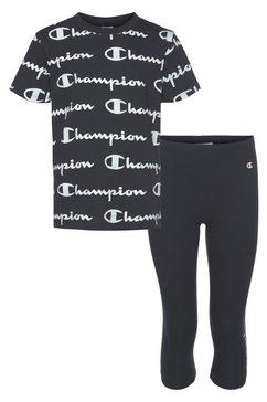 champion shirt  legging blauw