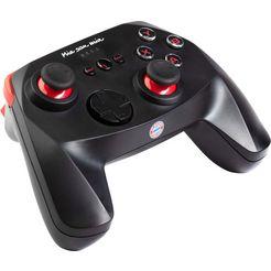 snakebyte »fc bayern muenchen pc wireless pro controller« pc-controller zwart