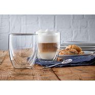 wmf glazenset cult coffee dubbelwandige uitvoering met thermo-effect (set) wit