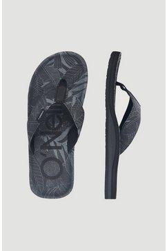 o'neill sandalen »chad fabric« zwart