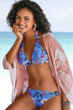 s.oliver red label beachwear triangel-bikinitop maya blauw
