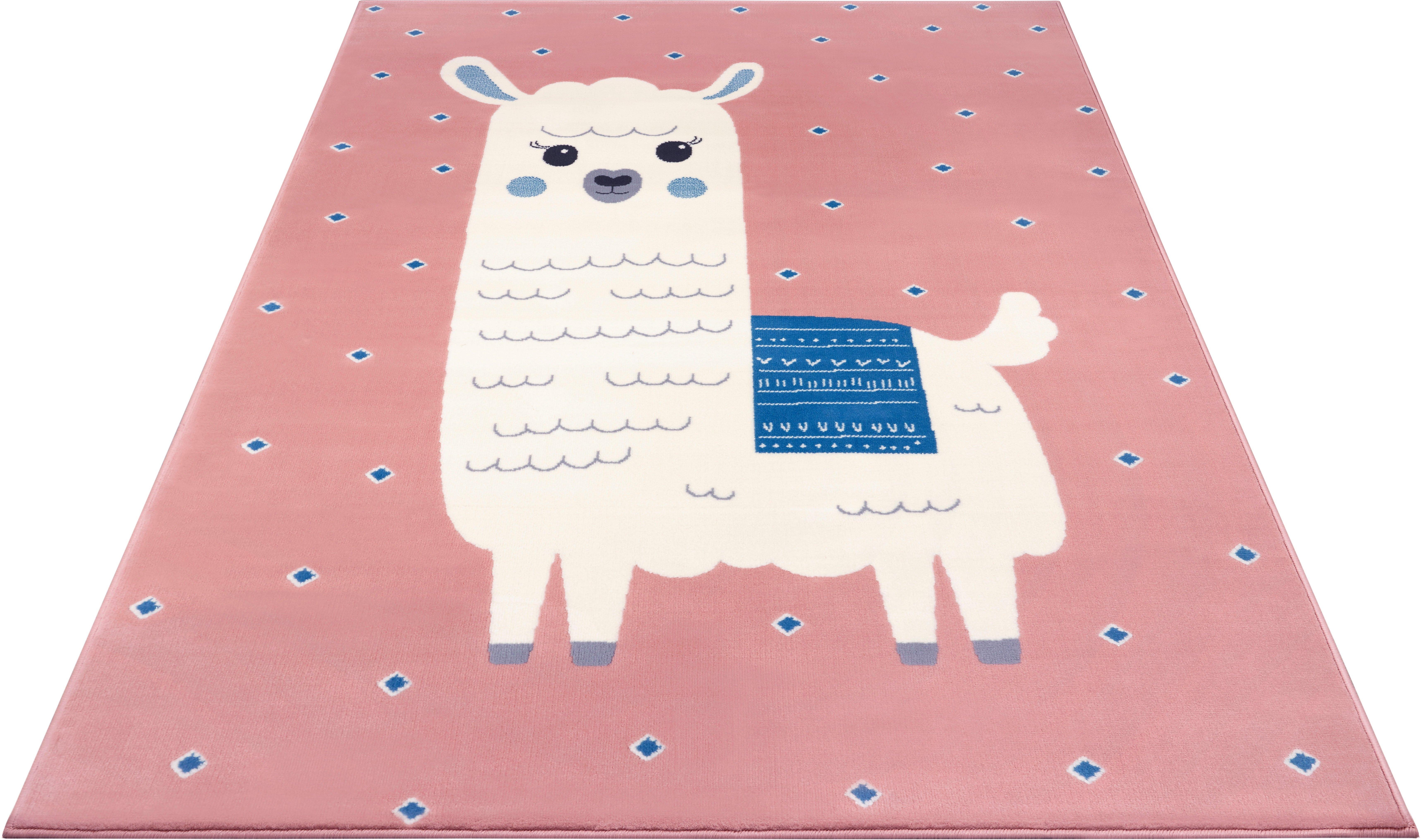 HANSE Home vloerkleed voor de kinderkamer »Lama Monty« veilig op otto.nl kopen