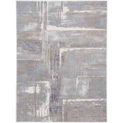 carpetfine vloerkleed »marmar theda« grijs