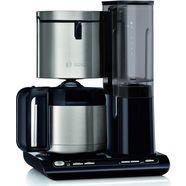 bosch »tka8a683 styline mit thermokanne« filterkoffieapparaat zwart