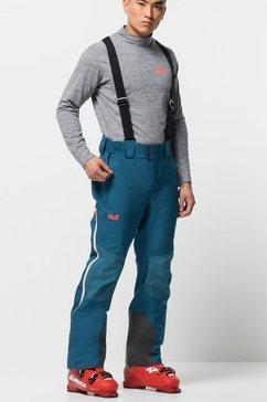 jack wolfskin skibroek »solitude mountain pants m« blauw