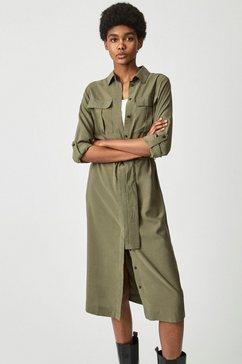 pepe jeans midi-jurk isabella groen