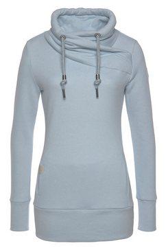 ragwear sweater »neska« blauw