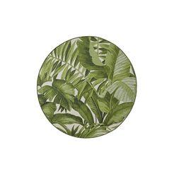 vloerkleed geschikt voor binnen en buiten groen