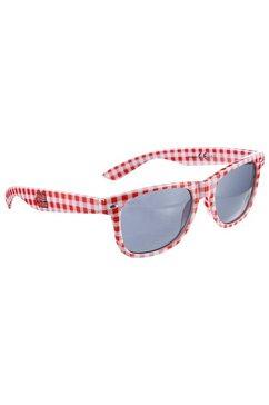 andreas gabalier zonnebril in ruitdesign rood
