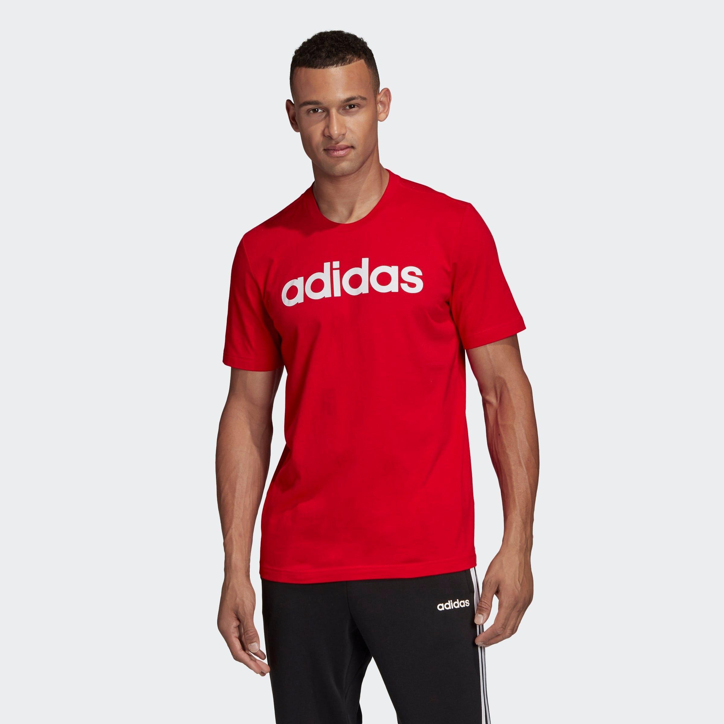 adidas T-shirt ESSENTIALS LINEAR LOGO nu online kopen bij OTTO