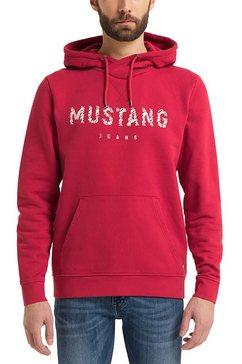 mustang capuchontrui bennet h print sweatshirt