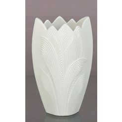 kaiser porzellan siervaas »palma« wit