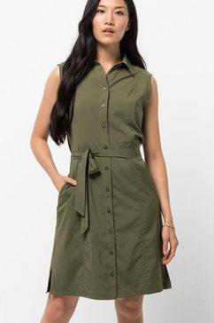jack wolfskin jurk »sonora dress« groen