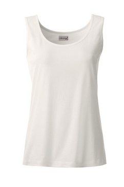 casual looks  shirttop in een eenvoudig design wit