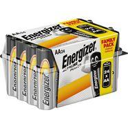 energizer »alkaline power aa 24er box« batterij zilver