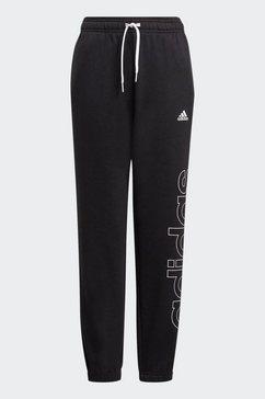adidas performance joggingbroek adidas boys essentials logo pant zwart