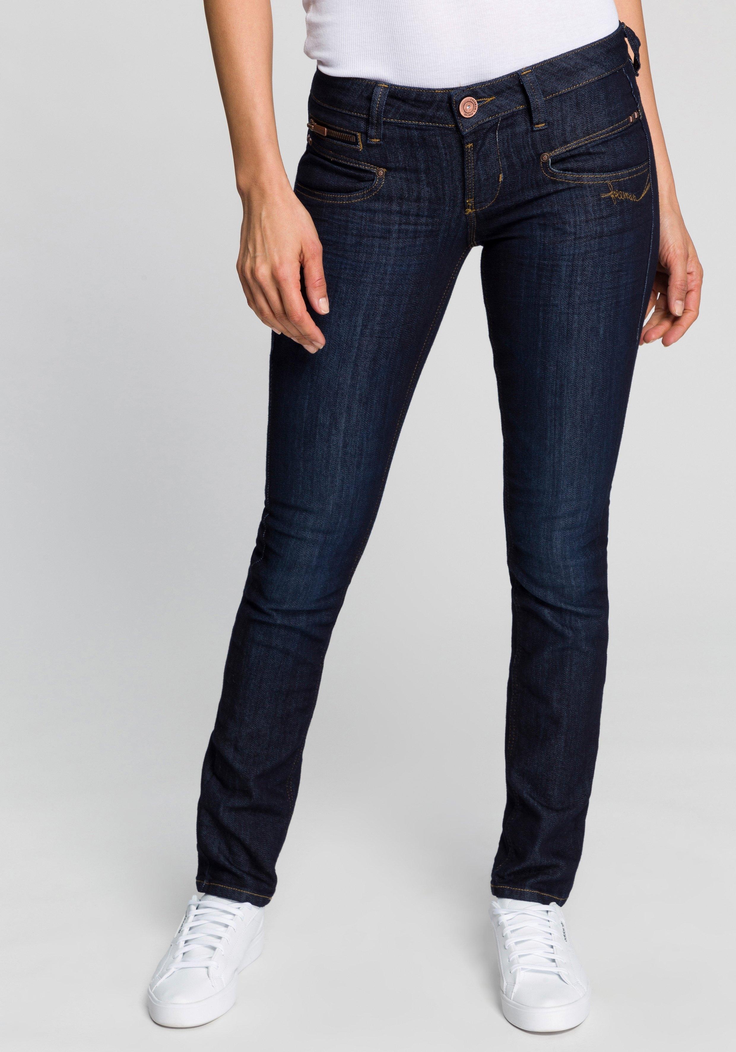 Freeman T. Porter slim fit jeans Alexa SDM met pas in hartmodel en vele liefdevolle details veilig op otto.nl kopen