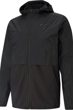 puma trainingsjack train woven ultra jacket zwart
