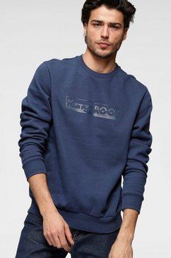 kangaroos sweatshirt blauw
