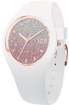 ice-watch kwartshorloge »ice lo - white pink - small - 3h, 013427«