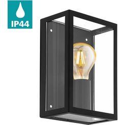 eglo, wandlamp voor buiten »alamonte 1«, zwart