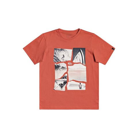NU 20% KORTING: Quiksilver T-shirt Torn Apart