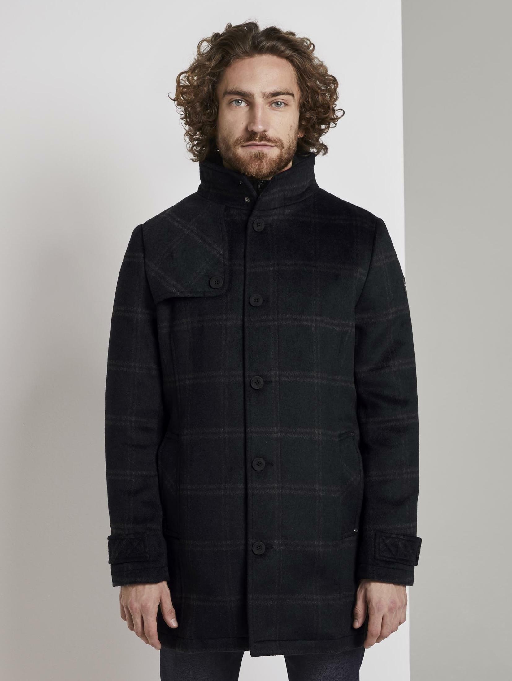 TOM TAILOR wollen jas »Klassischer Wollmantel« nu online bestellen