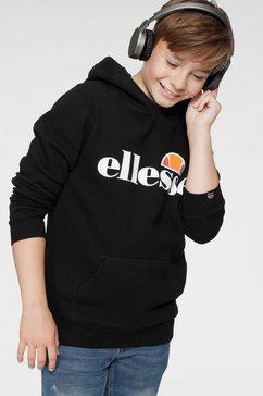 ellesse hoodie »jero junior« zwart