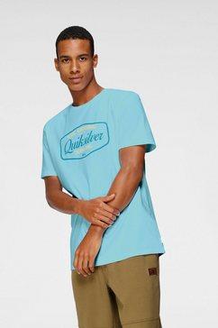 quiksilver t-shirt »cut to now« blauw